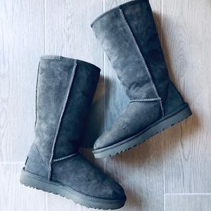 🔺SOLD🔺EUC Tall Gray Women's Ugg Boots